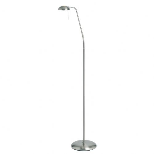 33W Touch Floor Lamp Satin Chrome BX656-FL-SC-17 (Class 2 Double Insulated)